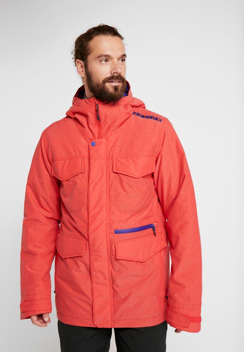 Burton - COVERT - Snowboard jacket - flame scarlet