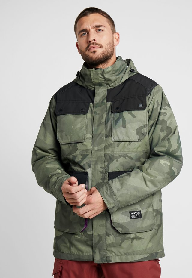 FALLDROP - Outdoorjas - dark green