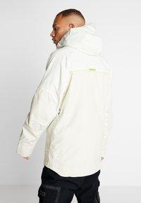 Burton - FROSTNER ANORAK - Snowboard jacket - white - 2