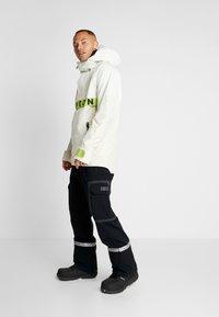 Burton - FROSTNER ANORAK - Snowboard jacket - white - 1