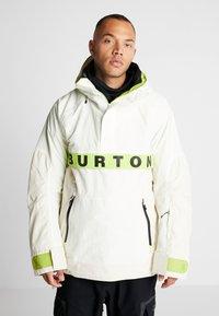 Burton - FROSTNER ANORAK - Snowboard jacket - white - 0