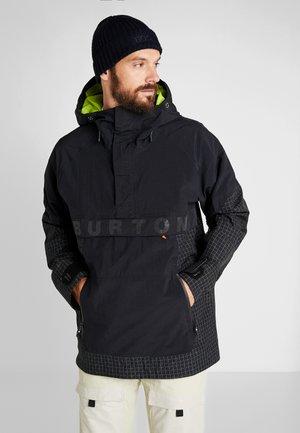 FROSTNER ANORAK - Snowboardjacka - black