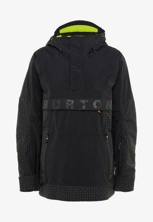 FROSTNER ANORAK - Snowboardová bunda - black