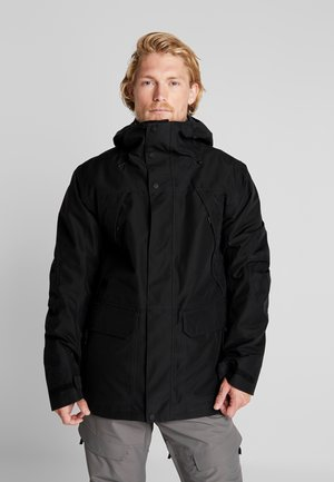 GORE BREACH - Snowboard jacket - true black