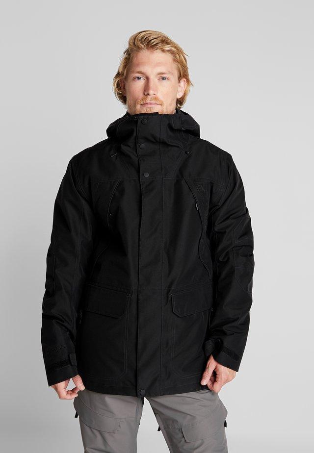 GORE BREACH - Snowboardová bunda - true black