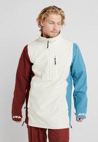 Burton - RETRO - Snowboardová bunda - almond milk/multi - 0
