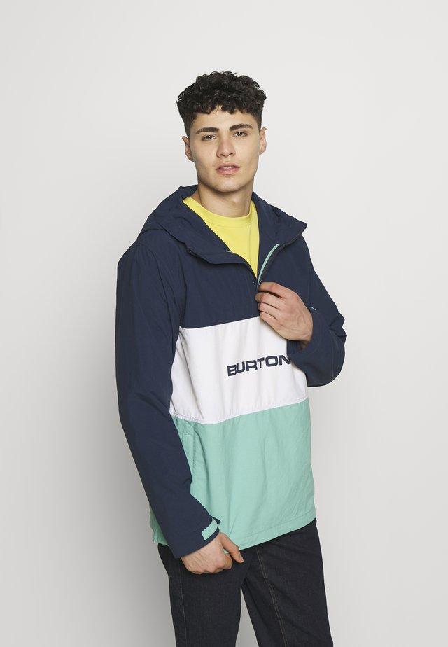 MENS ANTIUP JACKET - Snowboardová bunda - dress blue/buoy blue
