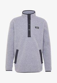 Burton - HEARTH  - Bluza z polaru - gray heather - 4
