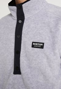 Burton - HEARTH  - Bluza z polaru - gray heather - 5
