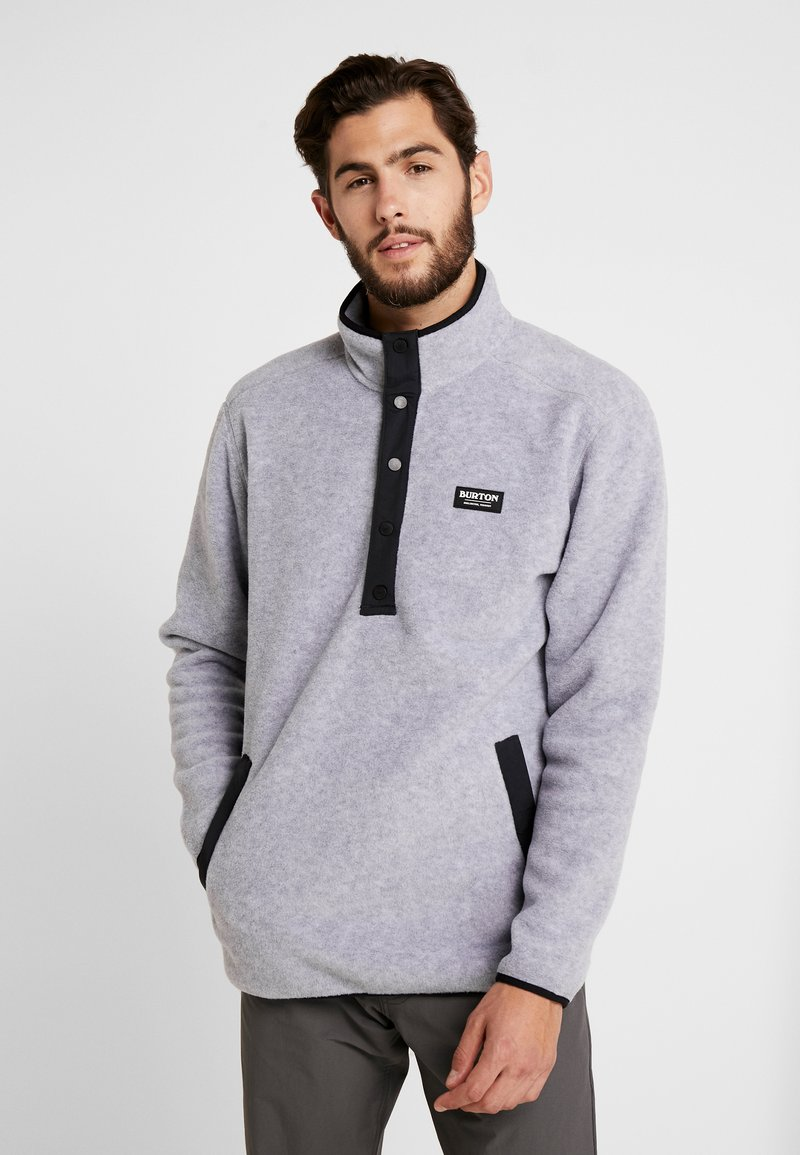 Burton - HEARTH  - Fleece trui - gray heather