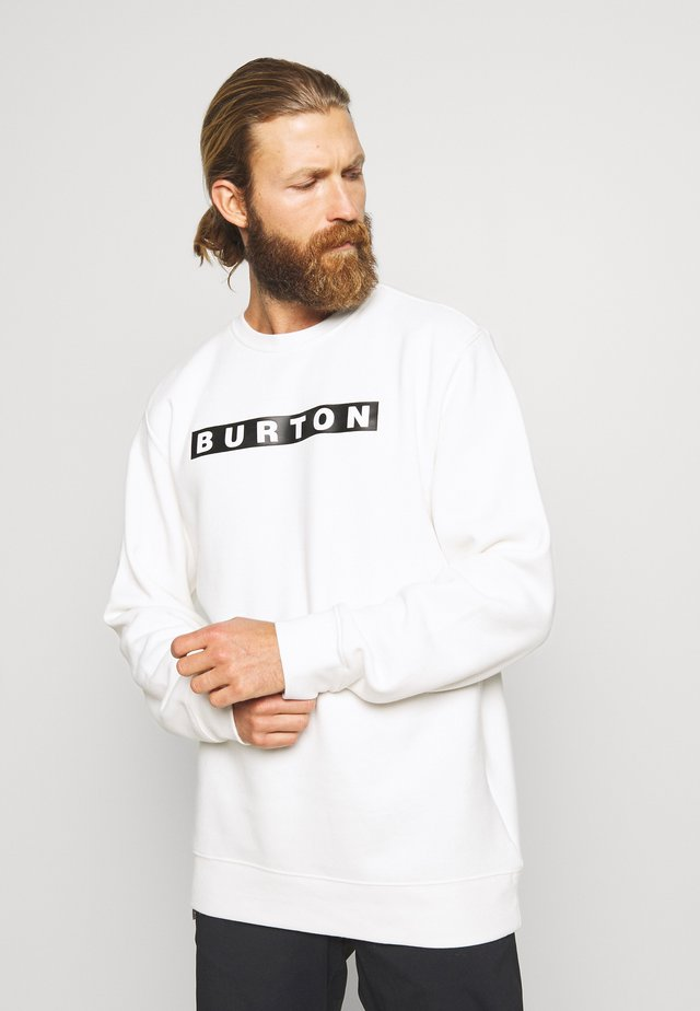 VAULT CREW - Sweatshirt - stout white