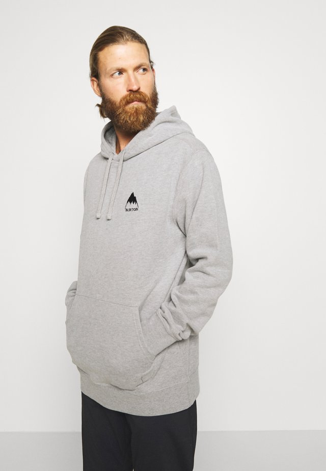 MEN'S MOUNTAIN HOODIE - Hoodie - gray heather