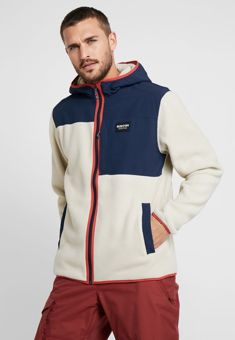 Burton - HEARTH  - Fleece jacket - beige