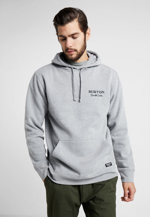 DURABLE GOODS - Bluza z kapturem - gray heather
