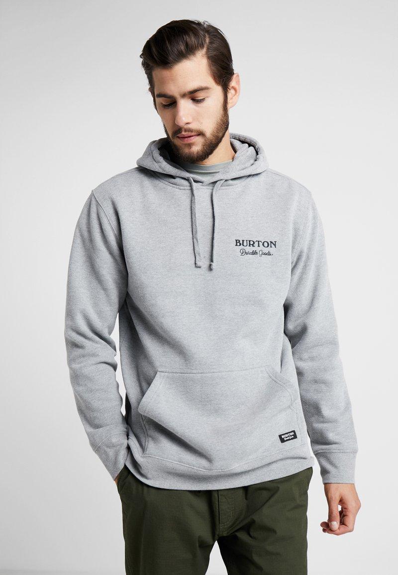 Burton - DURABLE GOODS - Luvtröja - gray heather