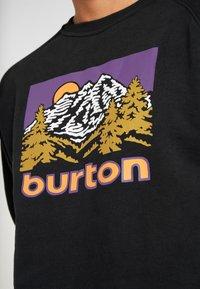 Burton - WEIR CREW - Bluza - true black - 4