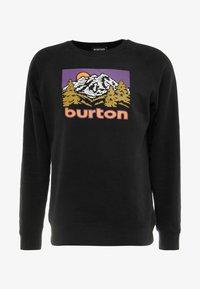 Burton - WEIR CREW - Bluza - true black - 3