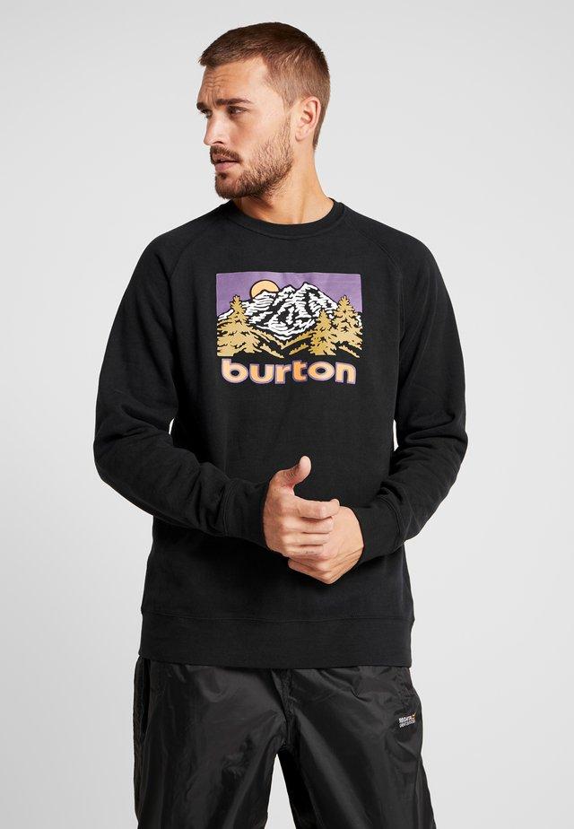WEIR CREW - Sweatshirt - true black