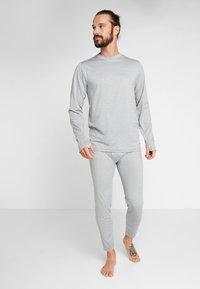 Burton - MIDWEIGTH CREW  - Unterhemd/-shirt - monument heather - 1