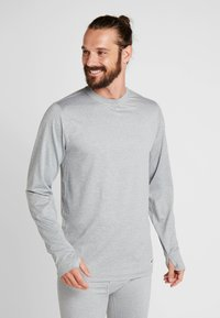 Burton - MIDWEIGTH CREW  - Unterhemd/-shirt - monument heather - 0