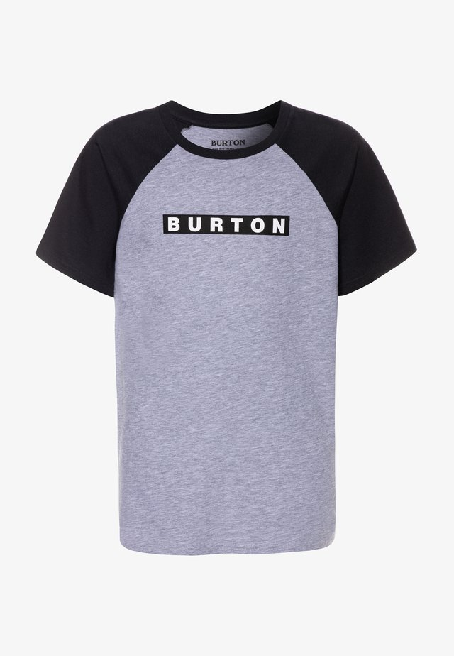 VAULT - T-Shirt print - gray heather