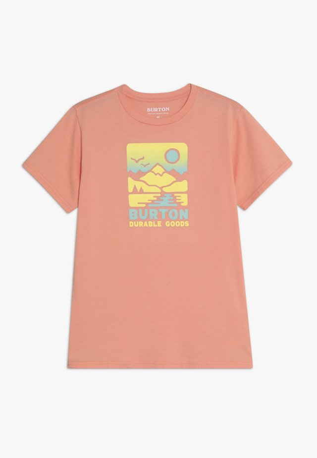 TRAILDAZE - Print T-shirt - peach amber