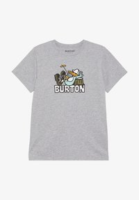 Burton - Triko s potiskem - gray heather - 2