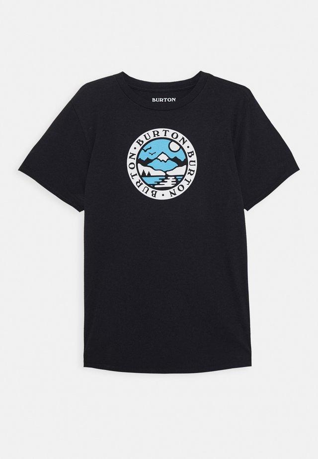 COLE  - T-shirt med print - true black
