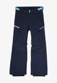 Burton - EXILE CARGO - Skibroek - dress blue - 2