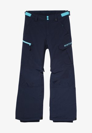 EXILE CARGO - Pantaloni da neve - dress blue