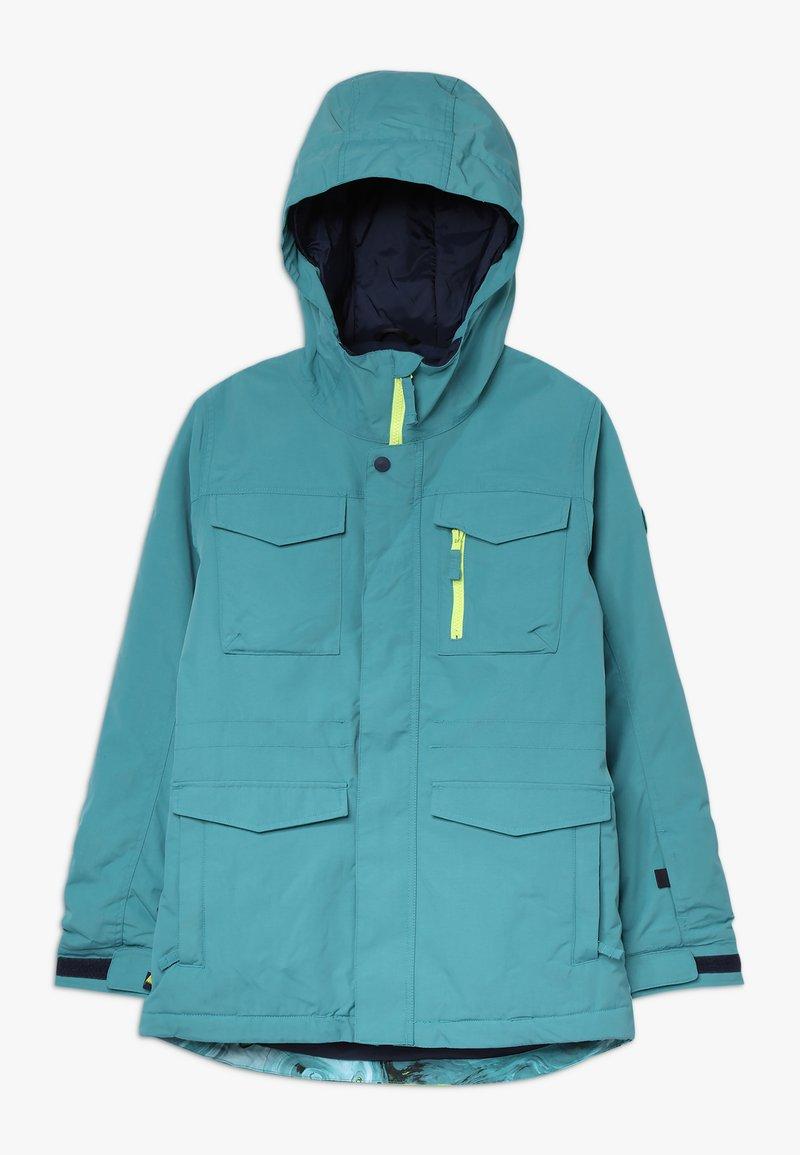 Burton - COVERT - Snowboardová bunda - blue/green