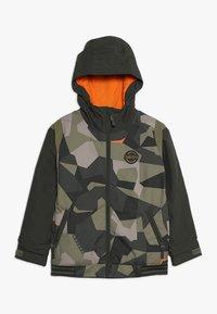 Burton - GAME DAY  - Snowboardová bunda - dark green - 0