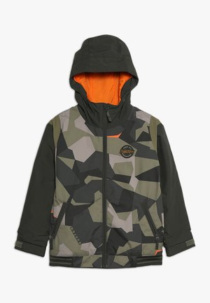 GAME DAY  - Kurtka snowboardowa - dark green