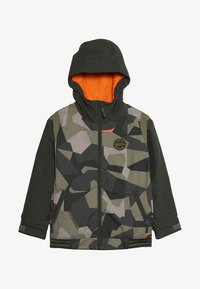 Burton - GAME DAY  - Snowboardová bunda - dark green - 4