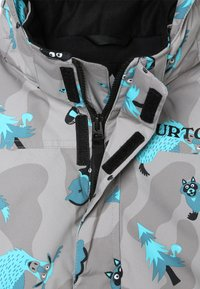Burton - AMPED HIDE AND SEEK - Giacca da snowboard - grey/blue - 4