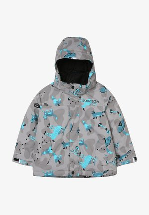 AMPED HIDE AND SEEK - Snowboard jacket - grey/blue