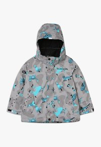 Burton - AMPED HIDE AND SEEK - Giacca da snowboard - grey/blue - 0