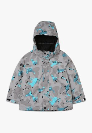 AMPED HIDE AND SEEK - Snowboardjas - grey/blue
