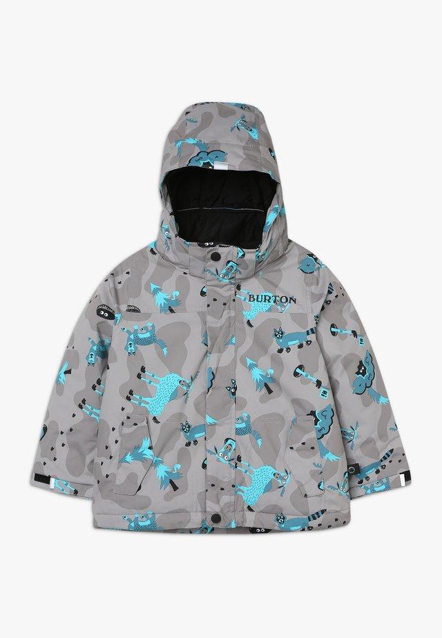 AMPED HIDE AND SEEK - Snowboard jacket - grey/blue