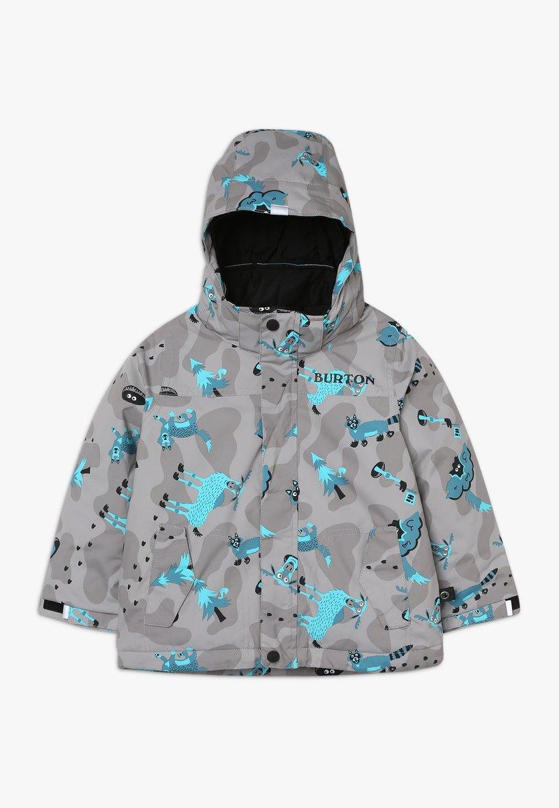 Burton - AMPED HIDE AND SEEK - Snowboardjacka - grey/blue