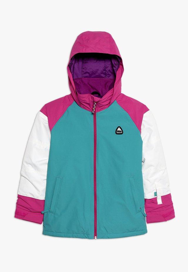 HART - Snowboardjacke - green/blue