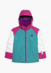 Burton - HART - Snowboardová bunda - green/blue - 4