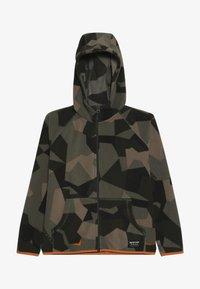 Burton - SPARK FTHREE CROWNS - Fleecová bunda - dark green/green - 2