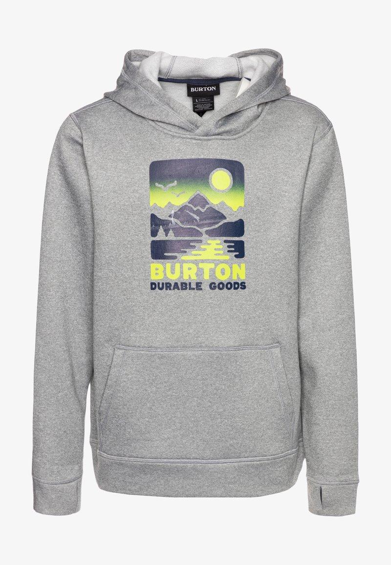 Burton - OAK - Hoodie - gray heather
