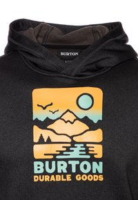 Burton - OAK - Sweat à capuche - true black heather - 2