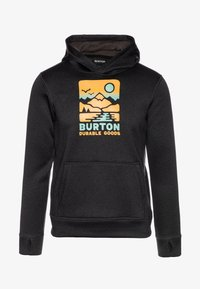 Burton - OAK - Sweat à capuche - true black heather - 0