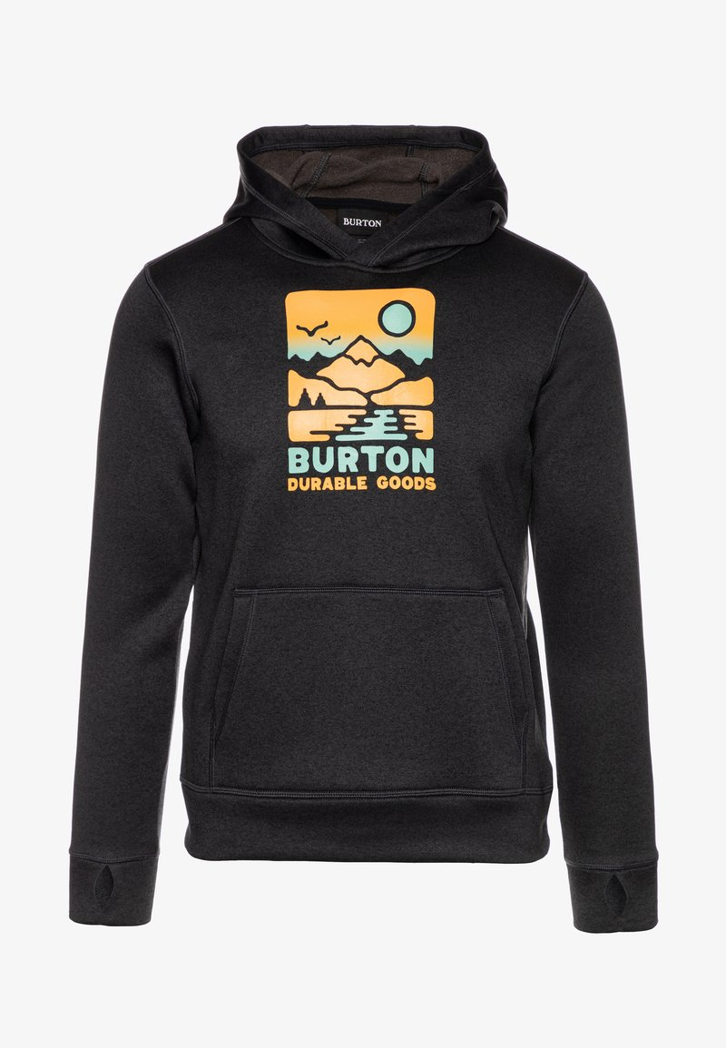 Burton - OAK - Sweat à capuche - true black heather