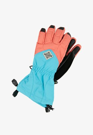 KIDS PROFILE GLOVE - Handschoenen - coral/blue