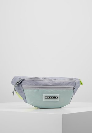 HIP PACK - Ledvinka - lilac gray flight satin