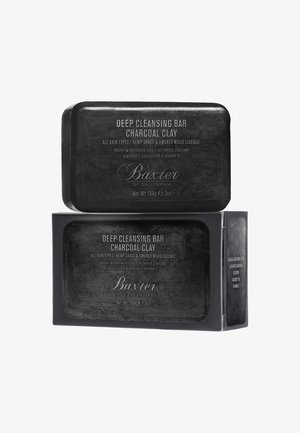 DEEP CLEANSING BAR CHARCOAL CLAY - Mydło w kostce - -